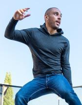 Unisex Tri-blend Long Sleeve Hoody