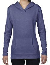 Women`s Crossneck Hooded Sweatshirt
