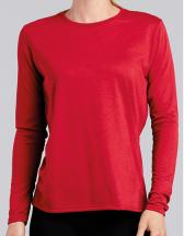Performance® Ladies` Long Sleeve T-Shirt