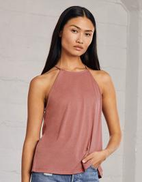 Women`s Flowy High Neck Tank
