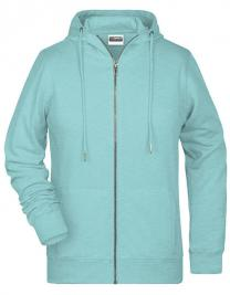 Ladies` Zip-Hoody