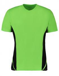 Mens Team Top V Neck Short Sleeve