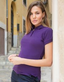 Ladies` Stretch Piqué Polo Shirt