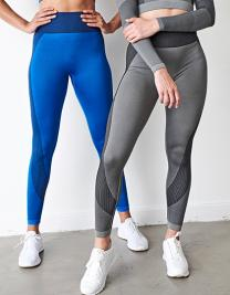 Ladies Seamless Panelled Leggings