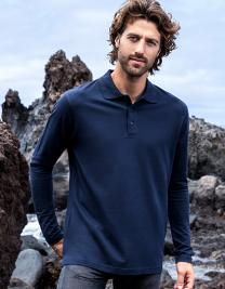 Men`s Heavy Polo Longsleeve