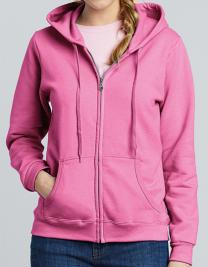 Heavy Blend™ Ladies` Full Zip Hooded Sweatshirt