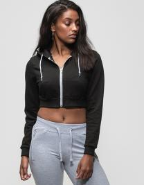 Girlie Cropped Zoodie
