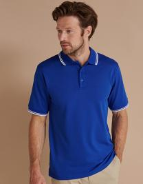 Men's Coolplus® Short Sleeved Tipped Polo Shirt