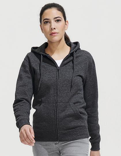 Women Hooded Zipped Jacket Seven