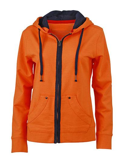 Ladies` Urban Hooded Sweat Jacket