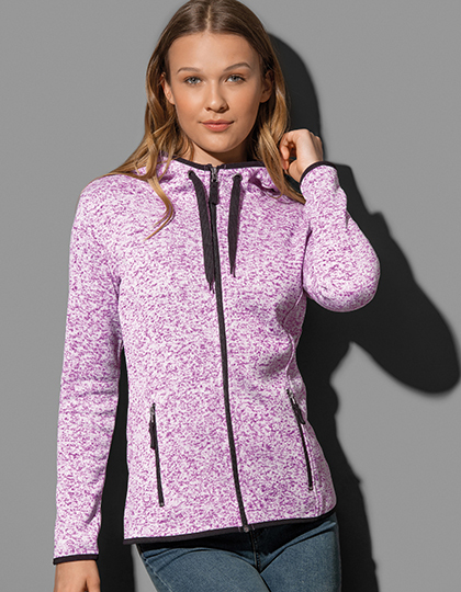 Active Knit Fleece Jacket for women